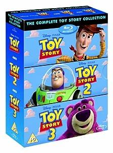 Toy Story 1-3 Box Set [Blu-ray] by Imports