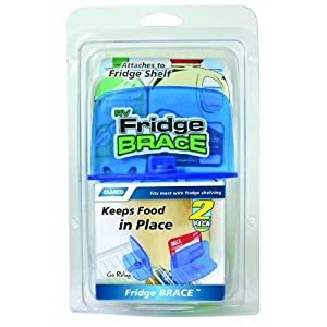 Camco 44033 Fridge Brace - 2 pack New