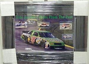 Dale Jarrett Signed Photo 11x14 Framed JSA COA Nascar - Autographed NASCAR Photos by Sports Memorabilia