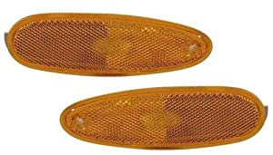 1996-1999 Ford Taurus Side Marker Lights 1-Pair(Both Driver and Passenger Sides) (Amber)
