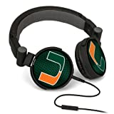 NCAA Miami Hurricanes DJ Style Headphones at Amazon.com