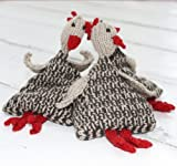 Juggling Speckled Hens Knitting Kit - toys to knit for fun