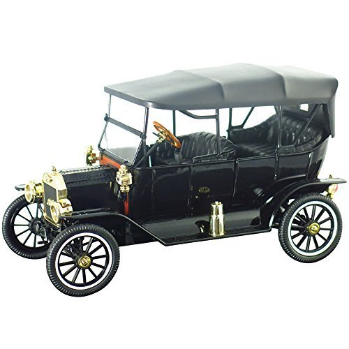 1915-ford-model-t-touring-diecast-collectible-tin-lizzy-car-replica-toy-by-motor-city-classics