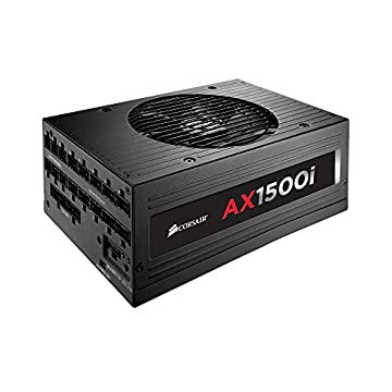 CORSAIR コルセア 80PLUS TITANIUM認証取得 1500Wフラッグシップ電源ユニット AX SERIES AX1500i CP-9020057-JP (AX1500i)