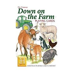 Down on the Farm Playing Cards