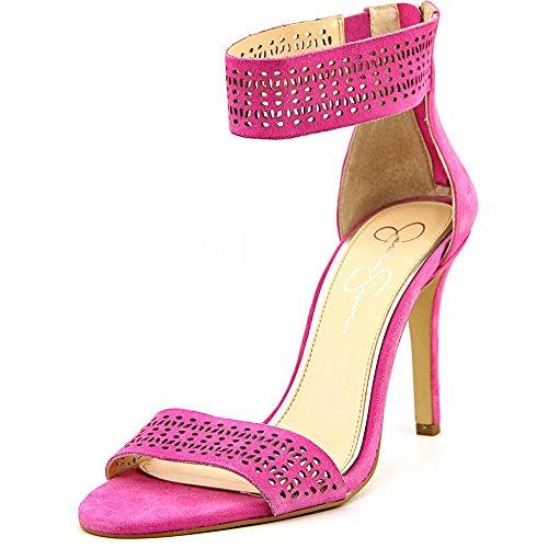 Jessica Simpson Jasperf Donna US 8.5 Rosa Sandalo EU 38.5