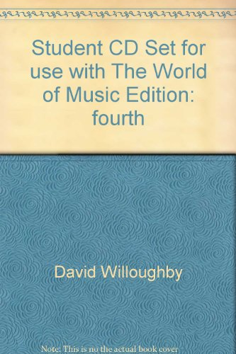 Student CD Set for use with The World of Music