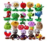 Luk Oil Combination of 15-23cm 20pc/lot Plants vs Zombies Style Soft Plush Toys Best Gifts for Any Plants Vs Zombies Fans