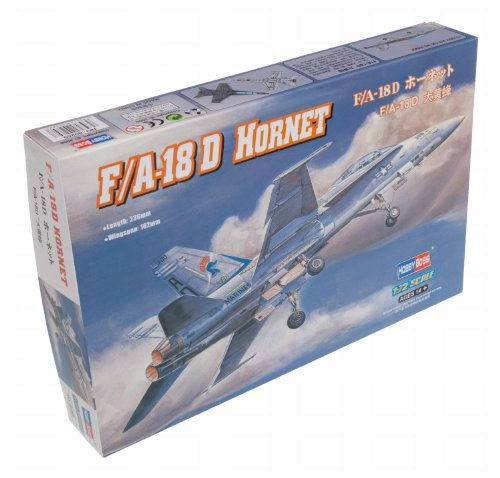 F/A-18D Hornet Aircraft (Easy Assembly) 1/72 Hobby Boss