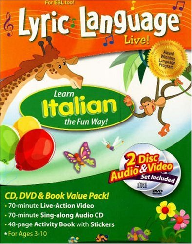 Lyric Language Live! Italian: Learn Italian the Fun Way! [With CD and DVD]
