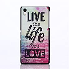 buy For Sony Xperia Z2 Case,[Gloryshop] Sea Life Love Pattern, Pc Material Painted Snap-On Protective Shell Hard Case Cover For Sony Xperia Z2