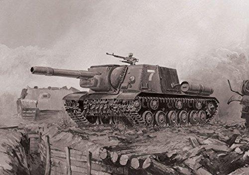 Zvezda-500785026-Panzer-172-Self-Propelled-Gun-ISU-152