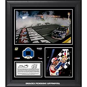 Jimmie Johnson 2014 Coca-Cola 600 at Charlotte Motor Speedway Race Winner Framed 15