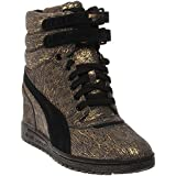 Puma Sky Wedge Iri Suede Women's Platform Sneakers Shoes
