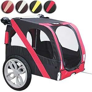 Leopet® FAH18-Red Fusion Trasportino per Bici in Rosso