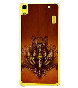 ifasho Modern Art Ganesh Back Case Cover for Lenovo K3 Note