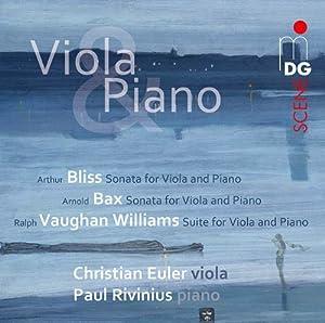 Sonata & Suite for Viola & Piano