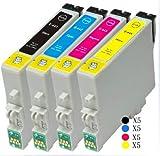 20 Inks High Capacity Black Compatible Ink Cartridges for Epson Stylus C64 C66 C84 C86 CX3600 CX3650 CX4600 CX6400 CX6600 Printers4 X T0441 High Capacity Black Compatible Ink Cartridges for Epson Stylus C64 C66 C84 C86 CX3600 CX3650 CX4600 CX6400 CX6600