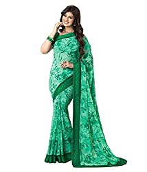 My online Shoppy Georgette Saree (My online Shoppy_22_Green)