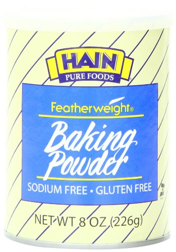 Hain Pure Foods Featherweight Baking Powder, 8 Ounce (Baking Soda No Salt compare prices)