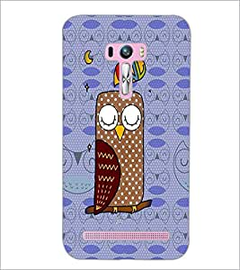 PrintDhaba cartoon D-2797 Back Case Cover for ASUS ZENFONE SELFIE ZD551KL ULTRA (Multi-Coloured)