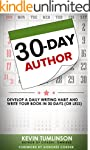 30-Day Author: Develop a Daily Writin...