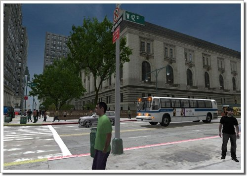 City Bus Simulator New York screenshot