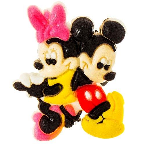 DIY Jewelry Making Disney Mickey & Minnie Back to back Croc Charm Jibbitz Style
