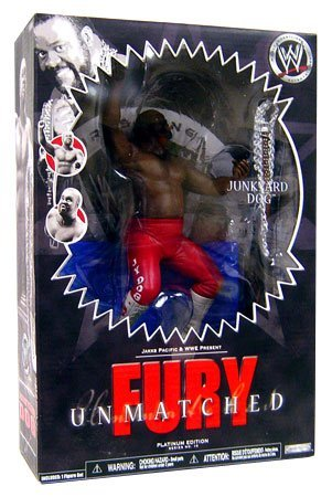WWE Unmatched Fury Series #10 Action Figures:Junkyard Dog