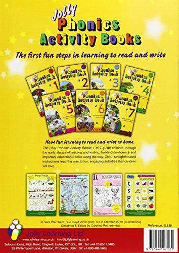 Jolly Phonics Activity Books