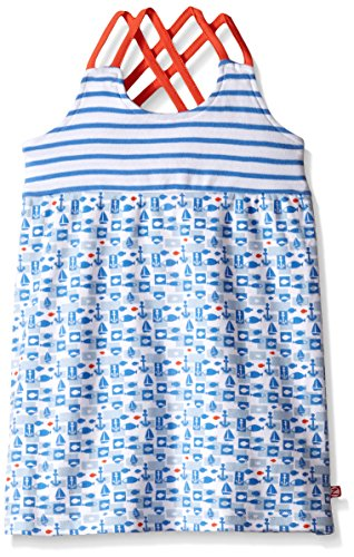 Zutano Toddler Girls Bateau Sunny Day Dress, 4T