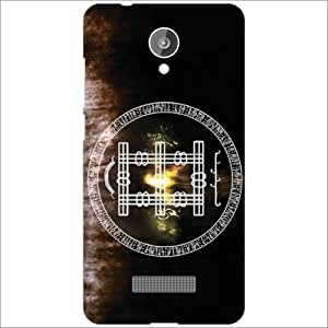 Micromax spark Q380 Back Cover - Silicon Abstract Designer Cases