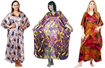 Value Pack Caftans, 3 Pretty Caftans, One Size, Special#14