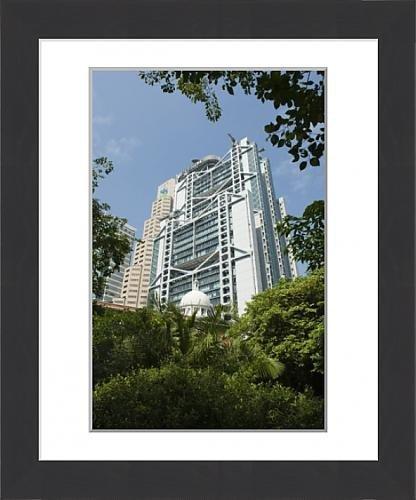 framed-print-of-the-hsbc-building-hong-kong-china-asia