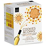 Cookies & Corks White Wine Pairing, 6.92-Ounce Boxes (Pack of 3)