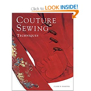 Couture sewing techniques book cover