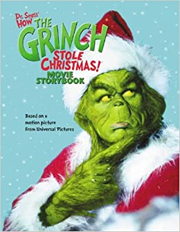 How the grinch stole christmas movie storybook hardcover october