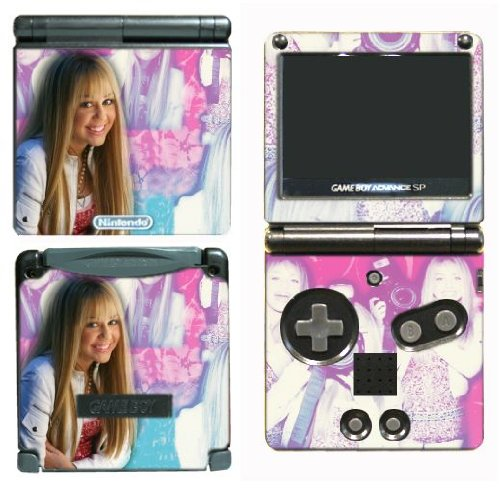 Gamerz Skinz New Hannah Montana Miley Cyrus Vinyl Decal Skin Protector Cover 8 For Nintendo Gba Sp Gameboy Advance