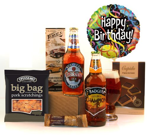 A Champion's Birthday Celebration Hamper for Men