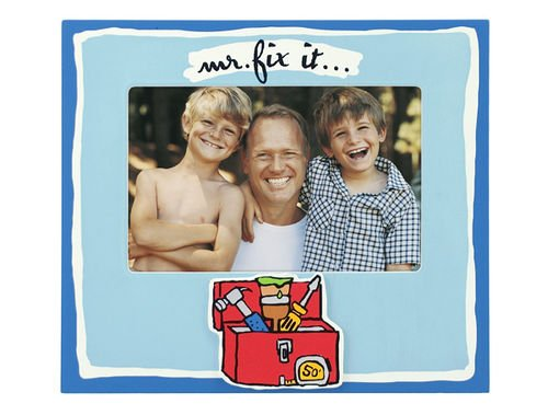 "Malden ""Mr. Fix It"" 4x6 Photo Frame"