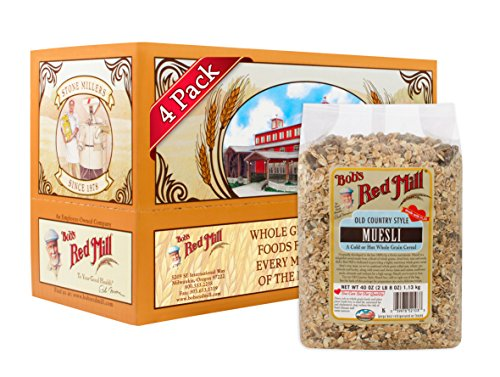 Bob's Red Mill Old Country Style Muesli Cereal, 40-ounce (Pack of 4) (Gluten Free Muesli compare prices)
