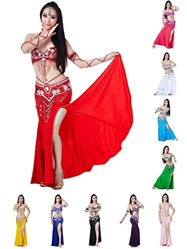 Surfwheel Sexy Belly Dance - Professional Dancing Costume (Not Included Sleeve Bracelet)