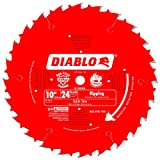 Freud D1024X Diablo 10-Inch 24-Tooth ATB Ripping Saw Blade with 5/8-Inch Arbor and PermaShield Coating