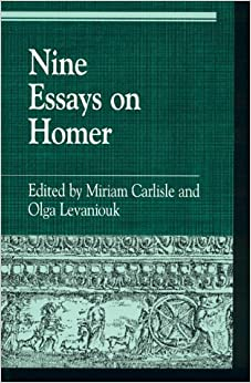 essays on homer Homer's iliad would have been severely criticized by socrates, as depicted by plato in the republic plato is critical of greek literature and mythology and even went so far as to propose a.
