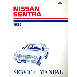 Download Nissan Sentra 1989 Service Manual, Mode by ...