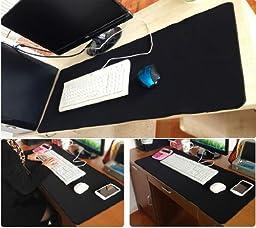 Extra Large Super Mouse Pad - 35.43\'\'x15.74\'\'x0.12\'\' Dimension - Non-slip Rubber base