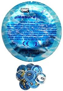 12 Pleasure Plus Condoms, a Revolutionary Condom which Heightens Sensation for Both Partner