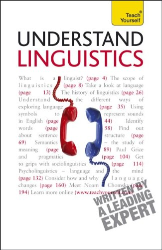 Teach yourself linguistics jean aitchison