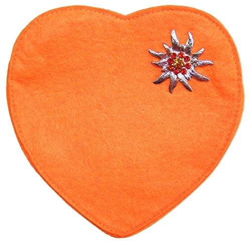 Herz-Trachtentasche-mit-Edelwei-Orange
