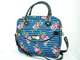 Betsey Johnson Computer Laptop Case Bag Sleeve Sailing Rose Multi